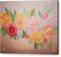 Favorite Flowers Acrylic Print by Alanna Hug-McAnnally