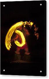 Feel The Heat Acrylic Print by Mike  Dawson