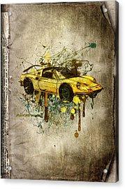 Ferrari Dino 246 Gts Acrylic Print by Svetlana Sewell