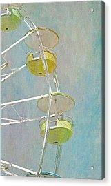 Ferris Wheel Acrylic Print by Cindi Ressler
