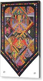 Fiesta De Los Angeles Acrylic Print by Salli McQuaid