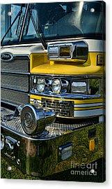 Fireman - Fire Siren Acrylic Print by Paul Ward