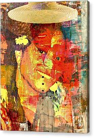 First Lady - The Republic In Mind Acrylic Print by Fania Simon