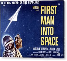 First Man Into Space, 1959 Acrylic Print by Everett