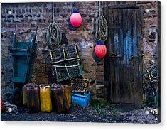 Fishermans Supplies Acrylic Print by John Short