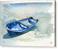 Fishing Boat Acrylic Print by Stephanie Aarons