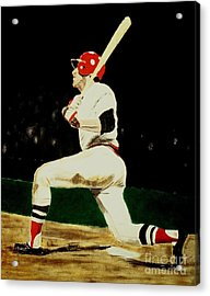 Fisk Acrylic Print by Ralph LeCompte