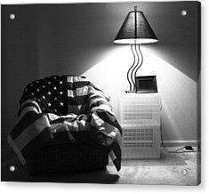 Flag Series No. 2 Acrylic Print by Julia Pappas