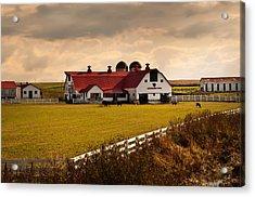 Flemingsburg Farm Ky Acrylic Print by Randall Branham