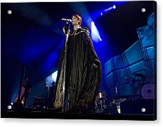 Florence And The Machine Acrylic Print by Jenny Potter