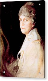 Florence Harding 1860-1924, First Lady Acrylic Print by Everett
