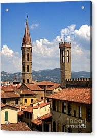 Florence Italy - 03 Acrylic Print by Gregory Dyer