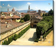 Florence Italy - Pitti Palace - 02 Acrylic Print by Gregory Dyer