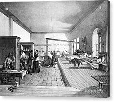 Florence Nightingale, English Nurse Acrylic Print by Photo Researchers, Inc.