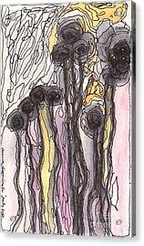 Flowers Acrylic Print by Aruna Samivelu