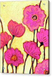 Flowers For Coralyn Acrylic Print by Jennifer Lommers