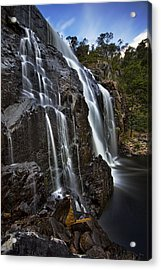 Flows Acrylic Print by Dave Cox