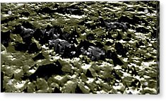 Flying Into Hale Crater Acrylic Print by Freyk John Geeris