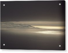 Fog And Sunlight Over Polar Acrylic Print by Gordon Wiltsie