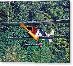 Fokker Dvii 02 Acrylic Print by Jeff Stallard