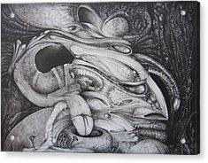 Fomorii General Acrylic Print by Otto Rapp