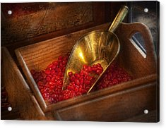 Food - Candy - Hot Cinnamon Candies  Acrylic Print by Mike Savad