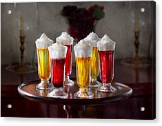 Food - Sweet - Let's Parfait All Night  Acrylic Print by Mike Savad