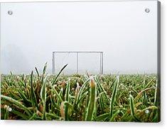 Football Goal Acrylic Print by Ulrich Mueller
