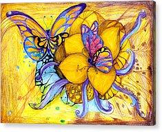 For Children Eyes Acrylic Print by Hong Diep Loi