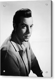 For The First Time, Mario Lanza, 1959 Acrylic Print by Everett