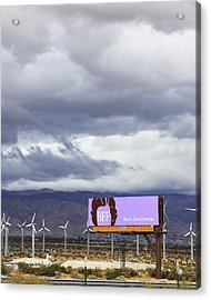 Forever Palm Springs Acrylic Print by William Dey
