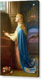 'forget Me Not' Acrylic Print by Arthur Hughes