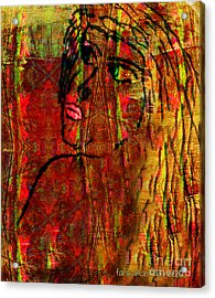 Forgotten Acrylic Print by Fania Simon