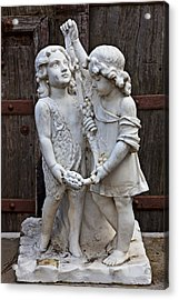 Forgotten Statue Acrylic Print by Garry Gay