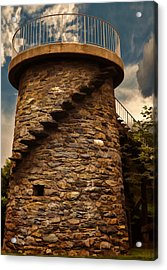 Fort Adams State Park Acrylic Print by Lourry Legarde