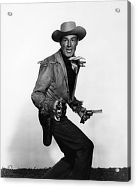 Fort Worth, Randolph Scott, 1951 Acrylic Print by Everett