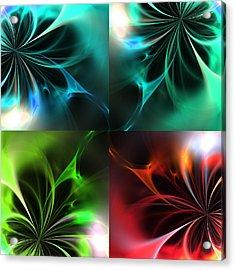 Fractal Seasons 2 Acrylic Print by Stefan Kuhn