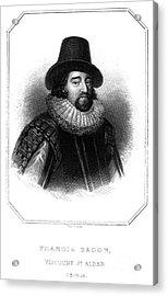Francis Bacon (1561-1626) Acrylic Print by Granger