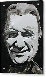 Francis Bacon Study Acrylic Print by Gerard Dillon