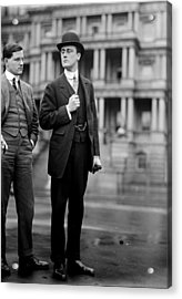Franklin Delano Roosevelt As A Young Man - C 1913 Acrylic Print by International  Images