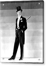 Fred Astaire, 1930s Acrylic Print by Everett