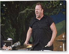 Fred Leblanc Of Cowboy Mouth Acrylic Print by Terry Finegan