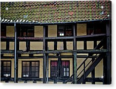 Freehand Architecture Acrylic Print by Odd Jeppesen