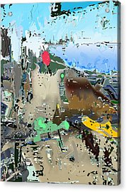 Freeviewing Acrylic Print by Immo Jalass