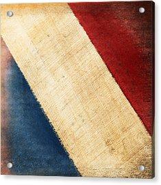 French Flag Acrylic Print by Setsiri Silapasuwanchai