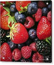 Fresh Berries Acrylic Print by Elena Elisseeva