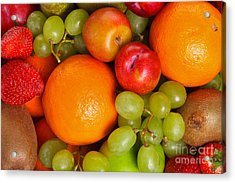 Fresh Fruit  Acrylic Print by Richard Thomas