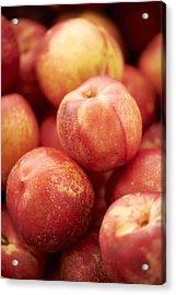 Fresh Nectarines Acrylic Print by Cameron Davidson