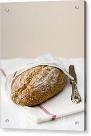 Freshly Baked Whole Grain Bread Acrylic Print by Shahar Tamir