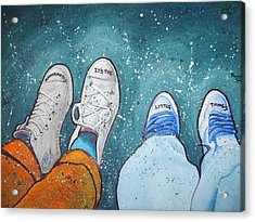 Friendship Acrylic Print by Jan Farthing